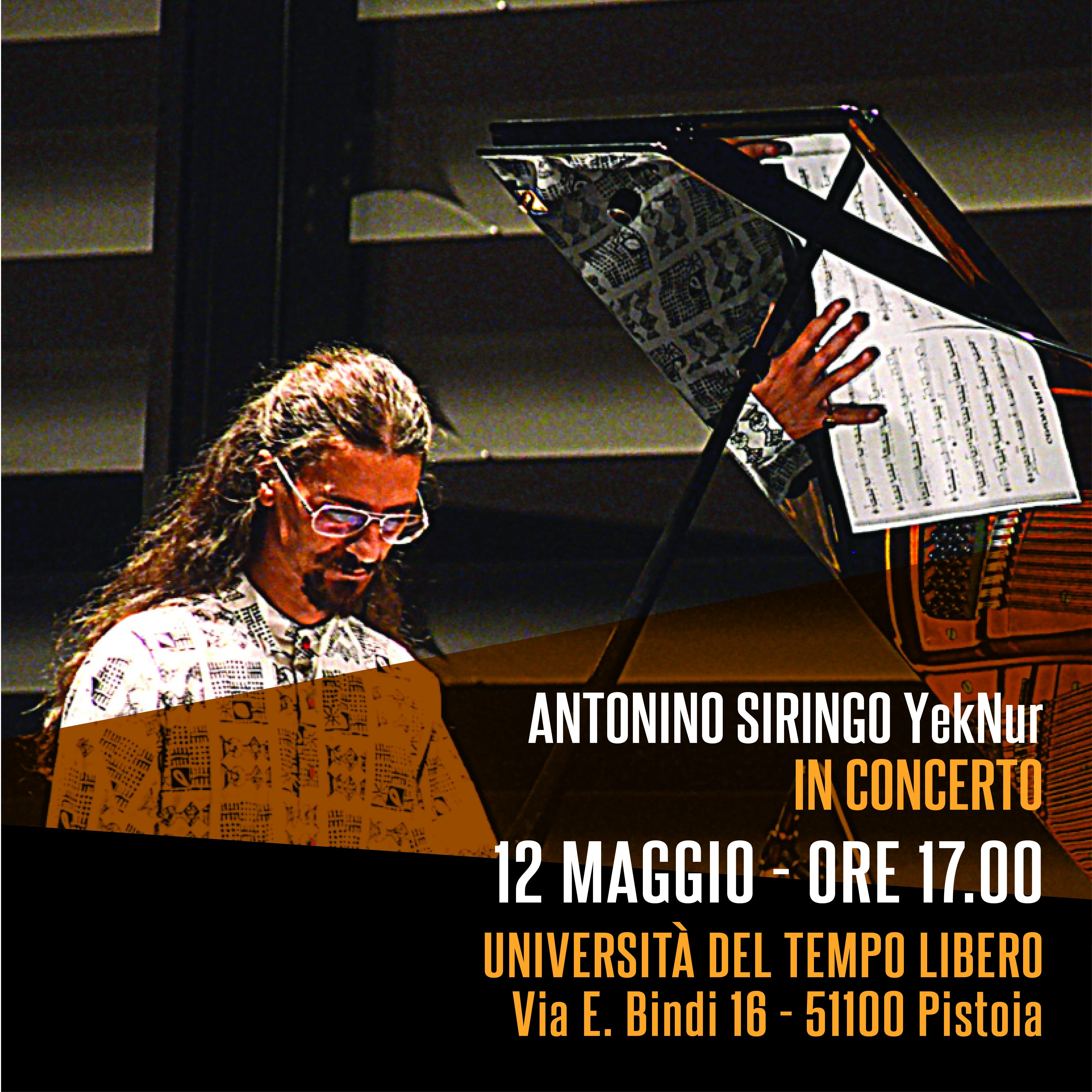 Antonino Siringo – YekNur in concert