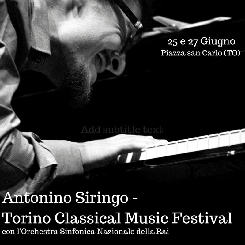 """""""Torino Classical Music Festival"""" with Orchestra Sinfonica Nazionale della Rai"""