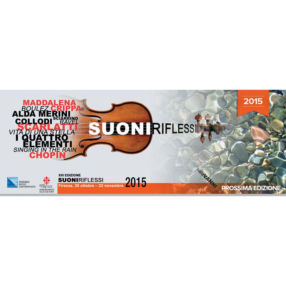 "25th October – FESTIVAL ""SUONI RIFLESSI"" XIII edition"